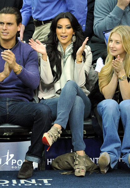 "info for 7a530 e5fa1 Spotted: Kim Kardashian wearing Christian Louboutin's ""Mad ..."